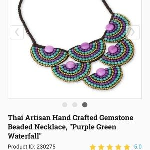 Multicolored Necklace Choker - NWOT